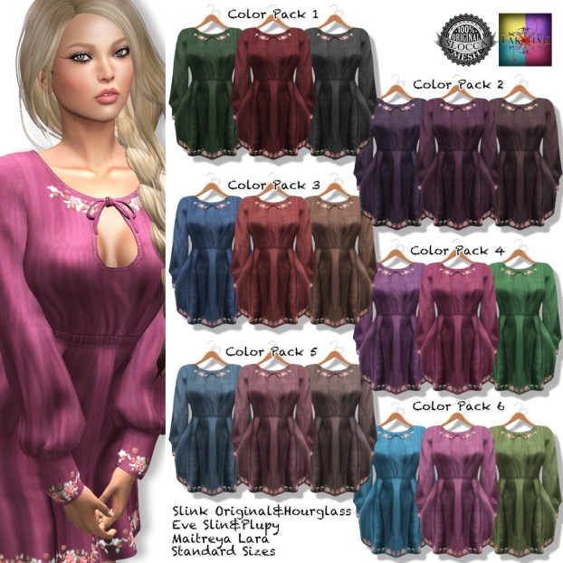 [LAKSHMI]Skye Dress All Color Pack 1024 - Copy