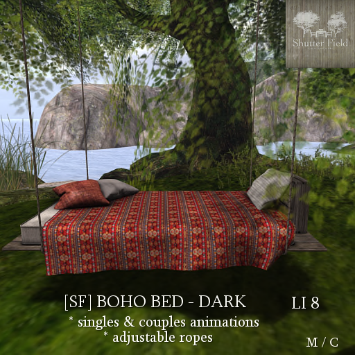 [sf] boho bed - dark ad