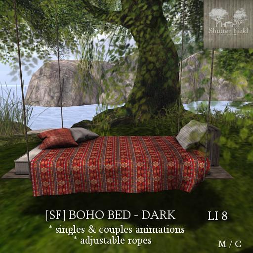 [sf] boho bed - dark ad