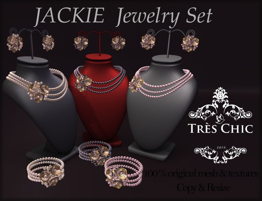 AvaWay_JACKIE_Pearl Set (3 colors)