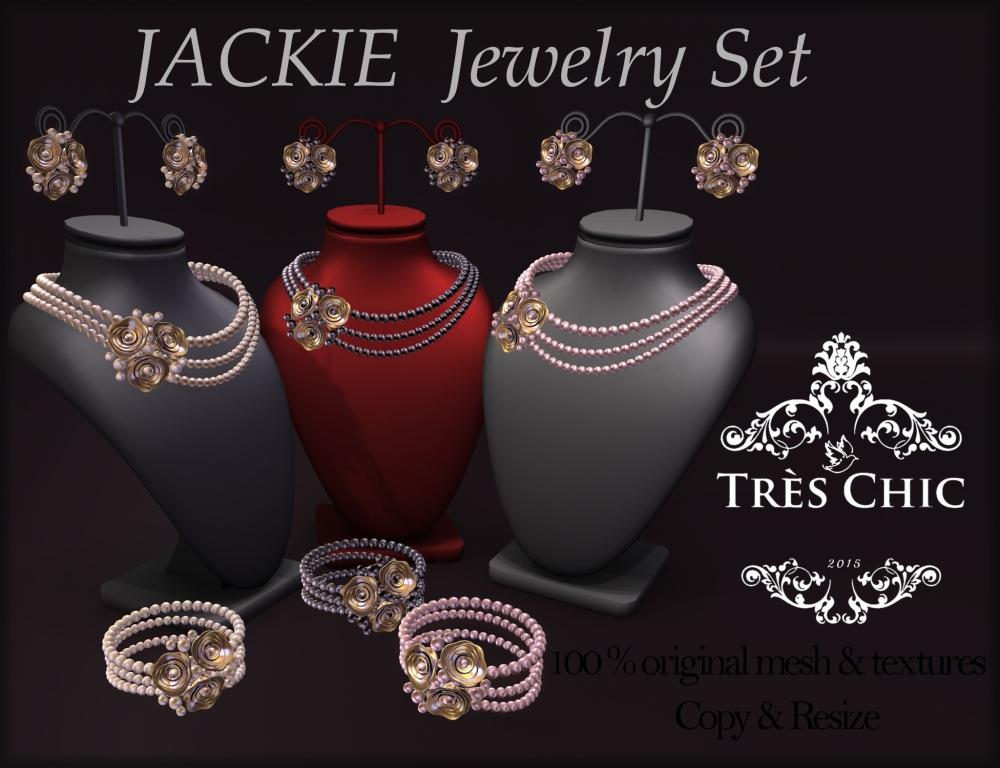 AvaWay_JACKIE_Pearl Set (3 colors)