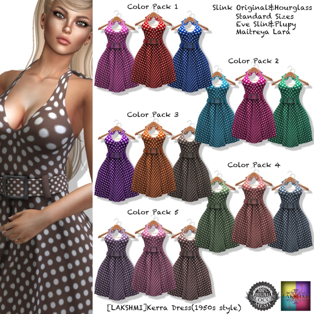 [LAKSHMI]Kerra Dress All Color Pakcs(Tres Chic)