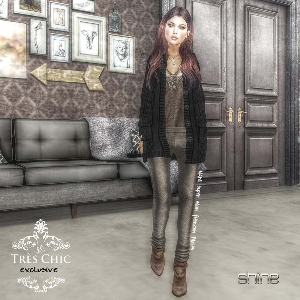 shine by [ZD] MARA SLIM FITMESH PANTS - tres chic 2-16 (1)
