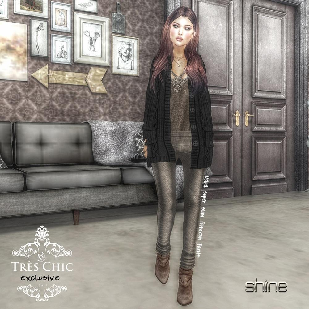 shine by [ZD] MARA SLIM FITMESH PANTS - tres chic 2-16 (1)