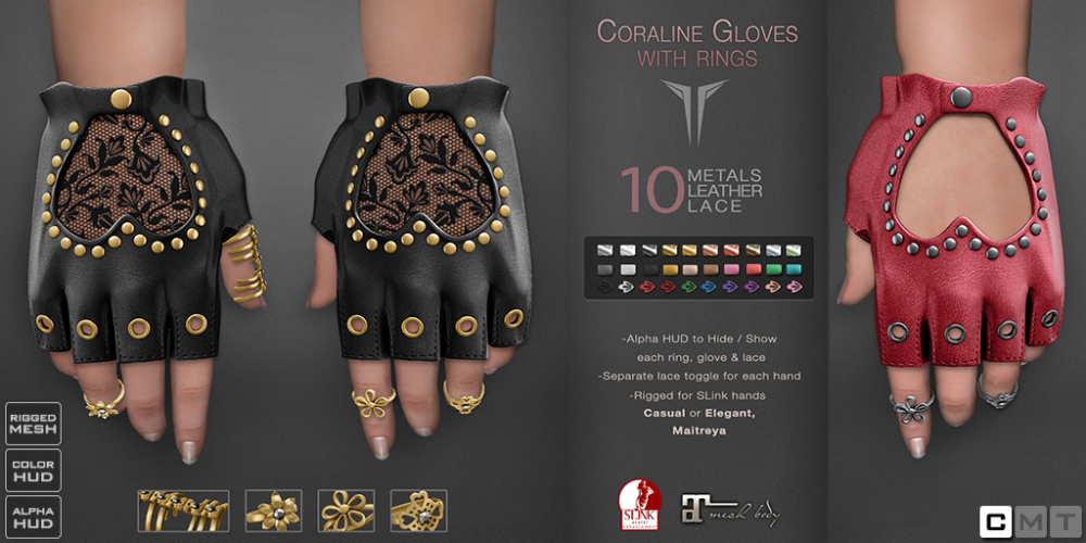__RE__ Coraline Gloves