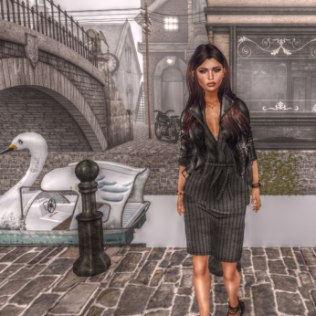 shine by [ZD] MADLYN SKIRT & VEST @ Tres Chic