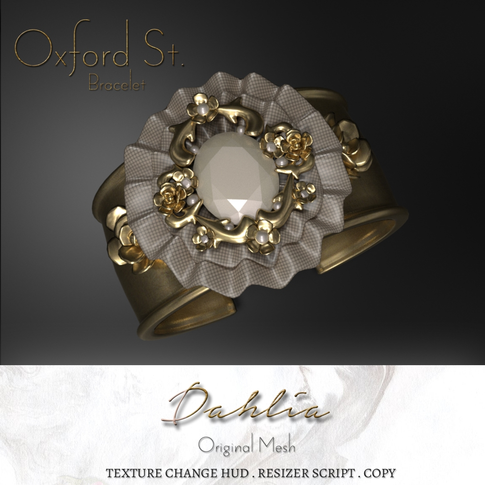 Dahlia - Oxford St. - Bracelet - Render Ad