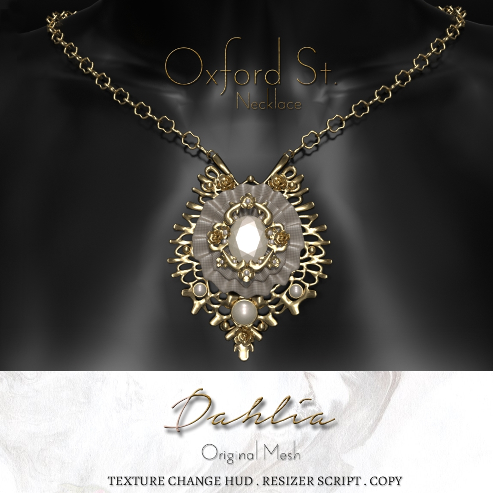 Dahlia - Oxford St. - Necklace - Render Ad
