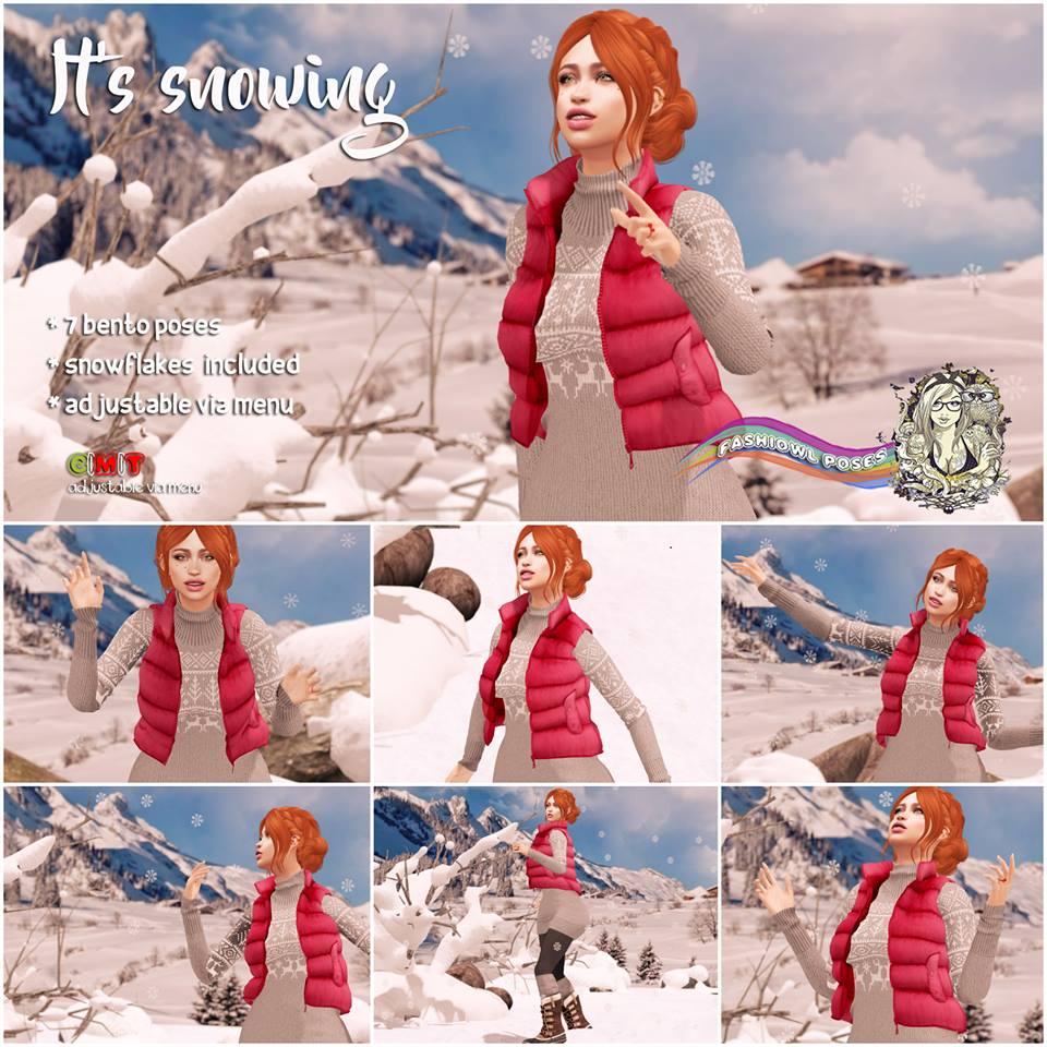Fashiowl - It's Snowing